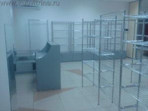 Торговое оборудование Краснодар. Обустройство магазина тканей