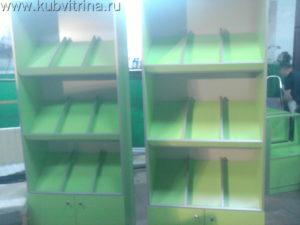Торговое оборудование Краснодар. Книжные стеллажи