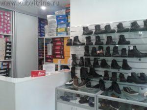 Торговое оборудование Краснодар.Обустройство магазина обуви