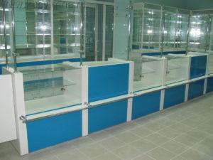 Торговое оборудование в Краснодаре. Торговый павильон, выстроенный из стандартных изделий
