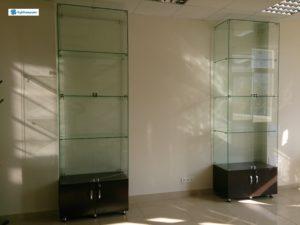 Торговое оборудование Краснодар. Витрины торговые из стекла.