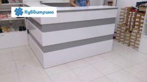 Торговое оборудование Краснодар. Ресепшен угловой. 1х2м