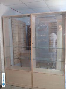 Торговое оборудование Краснодар. Настенные экономпанели, витрины из стекла.