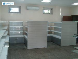 Торговое оборудование Краснодар. Металлические стеллажи