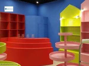 Торговое оборудование Краснодар. Обустройство детского магазина. Торговое оборудование в детский магазин.