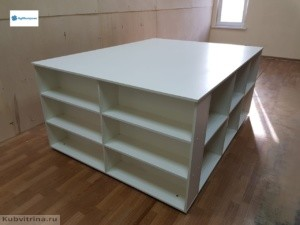 Масштабный стол для швейного магазина. 2х2 м