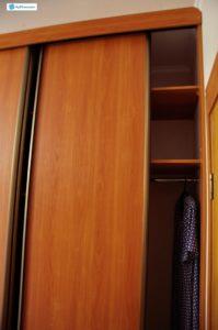 "Шкаф-купе ""Саванна"" на заказ. выполнен из ЛДСП. Профиль ARISTO. Цвет: Вишня Оксфорд. Высота: 2,60 м. Ширина: 2,10 м. Глубина: 0,6 м. Цена: 23 тыс.руб."