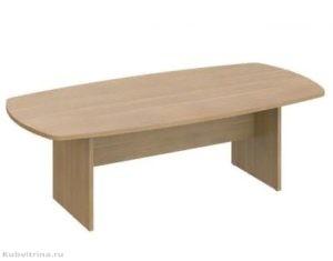 Овальный стол для переговоров. 240х120х74. ЛДСП 32 мм., кромка ПВХ. количество посадочных мест: 6, овальная форма. 21 000 руб