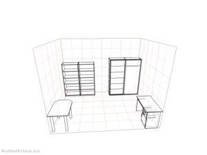 Мебель для подсобного помещения.