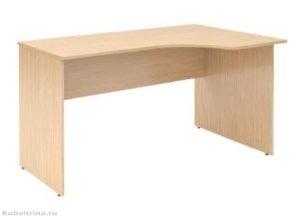 Угловой стол для персонала. 1400х900х750. Материал: ЛДСП, Защита торцевых поверхностей: кромка ПВХ. Цена:  4 100 руб.