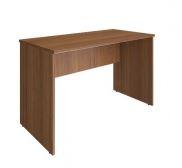 Линейный стол для офиса 1200х600х750. Материал: ЛДСП, 16 мм. Защита торцевых поверхностей: кромка ПВХ. Фурнитура: алюминий. Цена: 2 300  руб.