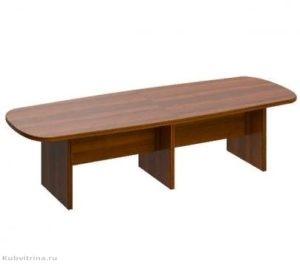 Овальный составной стол для переговоров. 300х110х75. ЛДСП 32 мм., кромка ПВХ. количество посадочных мест: 10, овальная форма., возможность наращивать длину стола с помощью дополнительных секций. Цена: 38 000 руб.