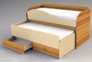 раскладная двуспальная кровать