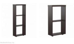 1 - стеллаж приставной, 456х200х1200, цена: от 2 тыс. 2 - стеллаж приставной, 456х200х830. Цена: от 2 тыс.
