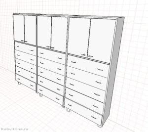 3. Шкафы для хранения препаратов.