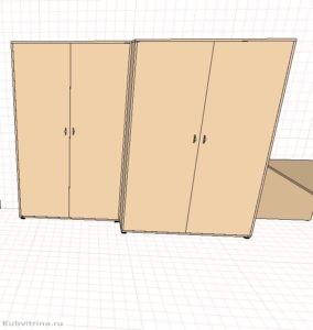 4. Шкафы для подсобного помещения.