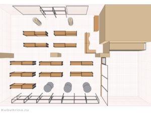 Дизайн-проект для магазина тканей