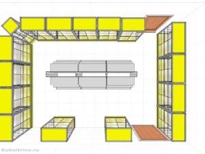 Дизайн-проект для компьютерного магазина в г. Краснодар