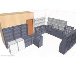 Дизайн-проект для кондитерского магазина